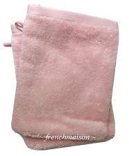 2 Garnier Thiebaut Gant Mitt Washcloth FRENCH TOWEL Antibacterial Soft ROSE Pink