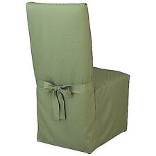McKenna Microfiber Dining Room Chair Cover Green