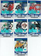 2019-20 UPPER DECK CREDENTIALS DEBUT TICKET ACCESS /999 7 RC CARD LOT