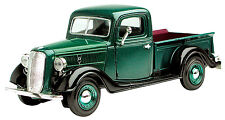 New Motormax - 1937 Ford Pickup Metallic Green 1:24 - 73233Ac