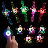 18 Pcs Light Up Rings Bracelets LED Party Favors for Kids Boys Glow in The Dark