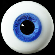 Good 8mm BlueIris with stripes Glass BJD Eyes for Ball Joint barbie OOAK Doll