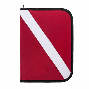 Trident Dive Log Book 3 Ring Binder with Inserts Dive Flag