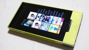 Microsoft ZUNE HD Rare GREEN COLOR (32 GB) Digital Media Player Model 1402