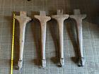 4 Vintage Wood Table Legs Salvage Restore Repurpose