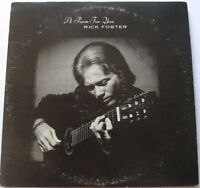 Rick Foster - A Poem For You 2XLP Vinyl Bread n Honey Folk Private GATEFOLD Rare