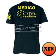 T-SHIRT 118 MAGLIA SOCCORSO MEDICO