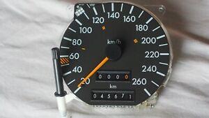 Tachometer Tacho  bis 260 km/h  Mercedes R129 W140   1.Serie mit Walzenzähler