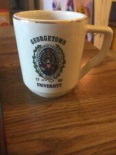 Vintage Georgetown University Coffee Cup Mug, WC Bunting Co USA
