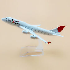 16cm Airplane Model Plane Air JAL YoKoSo Japan Airlines Boeing 747 B747 Aircraft