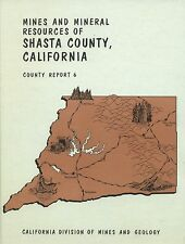 450 Gold Mines, locations, Big separate maps, Shasta County, Calif, 1st ed, Vg+