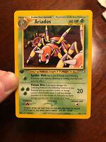 ARIADOS - 1st Edition Neo Genesis Set - 27/111 - Uncommon - Pokemon Card