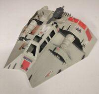 Vintage 1996 Star Wars Power of the Force Rebel Snowspeeder Incomplete Untested