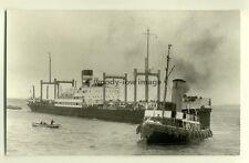c0348 - Harrison Cargo Ship - Statesman , built 1923 - photograph J Clarkson
