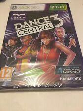 🤩 xbox 360 neuf blister  officiel pal fr dance central 3 danse kinect jeu