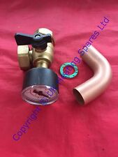 Ideal Sistema Independiente 15 18 24 y 30 calefacción válvula de flujo Pack Con Indicador 175528