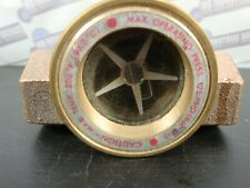 """New - Midwest Sfi-100-1/2 Brass Sight Flow Indicator Model 100 1/2"""""""