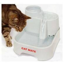 Mascota Cat Mate Fuente Filtro Perro Gatos BEBEDERO AGUA CARTUCHO Bomba C335