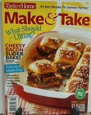 Taste of Home Make & Take Cheesy Bacon Slider Bake FREE SHIPPING