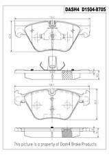 Disc Brake Pad Set-Ceramic Pads Front Dash 4 Brake CD1504