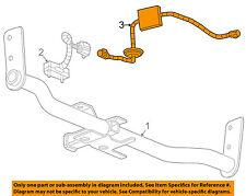 GM OEM Trailer Hitch-Rear Bumper-Harness 20807039