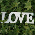 LOVE White Letters Sign Wooden Standing Top Table Wedding Decoration