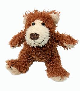 "RARE HTF Melissa & Doug Baby Roscoe Teddy Bear Plush Chocolate Stuffed Animal 6"""