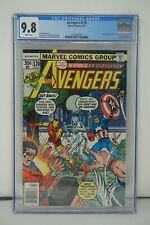 MARVEL COMICS CGC 9.8 THE AVENGERS #170 4/78 WHITE PAGES