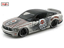 Maisto 1:24 2011 Ford Mustang GT Harley Davidson Diecast Model Racing Car Toy