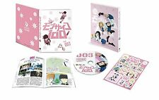 New Mob Psycho 100 Vol.3 First Limited Edition Blu-ray Booklet Sticker Japan F/S