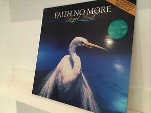 "Faith No More – Angel Dust 1992 1ST UK PRESS Vinyl LP w/12"" EX/EX"