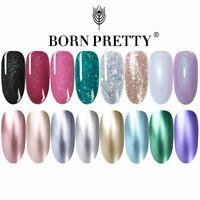 Metálico Gel Soak Off Esmalte De Uñas UV Base Capa Superior Manicura Nail Art