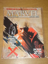 MARVEL MONTHLY CATALOGUE #7 1999 JAN VF US MAGAZINE EARTH X X-MEN