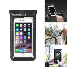 Motorcycle Bicycle Handlebar Mount Holder Bag Case Waterproof for Cell Phone M