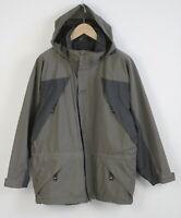 HELLY HANSEN HELLY TECH Men's MEDIUM Waterproof Mesh Lined Hiking Jacket 22874/S