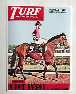 Roman Brother Turf & Sport Digest April 1966 Photo Cover