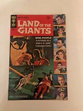 LAND OF THE GIANTS #1 great condition a 1968 Gold Key comic TV photo cover