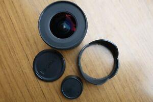 Sigma EX 10-20mm D f/4-5.6 DC HSM Wide Angle Lens Nikon AI-S F Mount & Hood