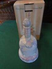 Great Collectible Bell Porcelain Flower Dinner Bell.Free Postage Usa
