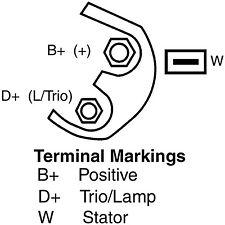 Remy 14799 Remanufactured Alternator