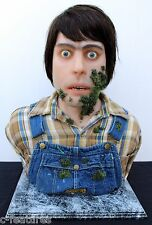 CREEPSHOW Jordy Verrill STEPHEN KING Life-Size 1:1 BUST Silicone Sculpture OOAK!