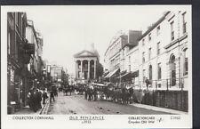 Cornwall Postcard - Old Penzance Street Scene c1913 - Ref A8649