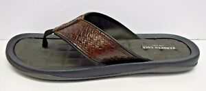 Kenneth Cole New York Size 13 Brown Leather Sandals New Mens Shoes