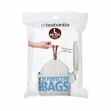 Brabantia Waste Bags Dispenser Pack L, 30 Pcs, 40-45 Litre, White