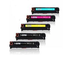 5 COMPATIBILI REMAN TONER HP 540 541 542 543 PER Canon I-Sensys MF8050cn