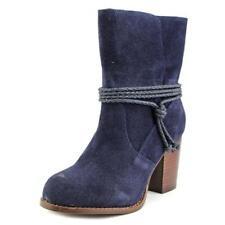 Botas de mujer de tacón medio (2,5-7,5 cm) de color principal azul Talla 37