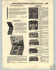 1936 PAPER AD Hotz Hohner Store Display Case Box Harmonica American Ace All Star