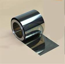 1PC New Stainless Steel Fine Plate Sheet Foil 0.05mm x 100mm x 1m