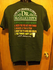 The Top 5 Reasons to Drink Dr. McGillicuddy's Liqueur Green T-shirt Size Large
