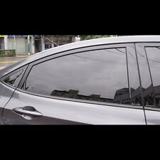 Door B and C Pillar Mirror Plate Molding For Hyundai Accent Solaris 2011~2015